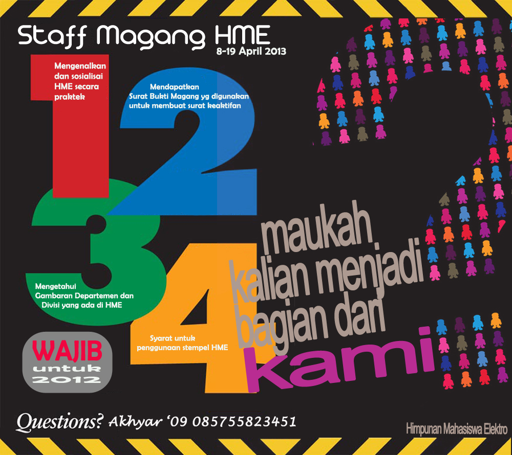 Staff Magang HME 2013