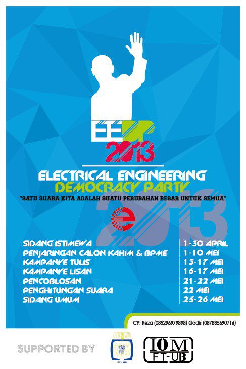 EEDP ( Electrical Engineering Democracy Party ) 2013