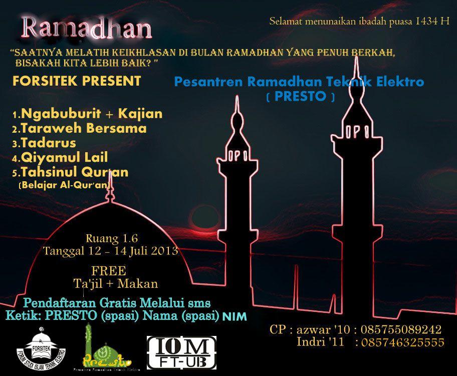 Pesantren Ramadhan Teknik Elektro