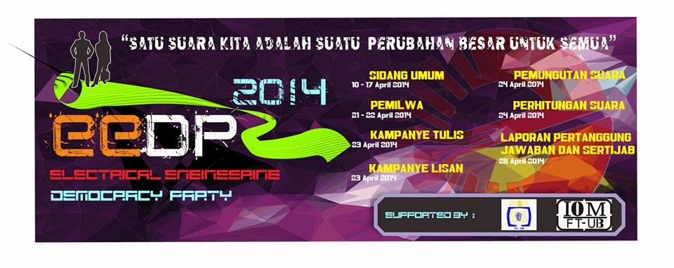 EEDP (Electrical Engineering DemocracyParty) 2014