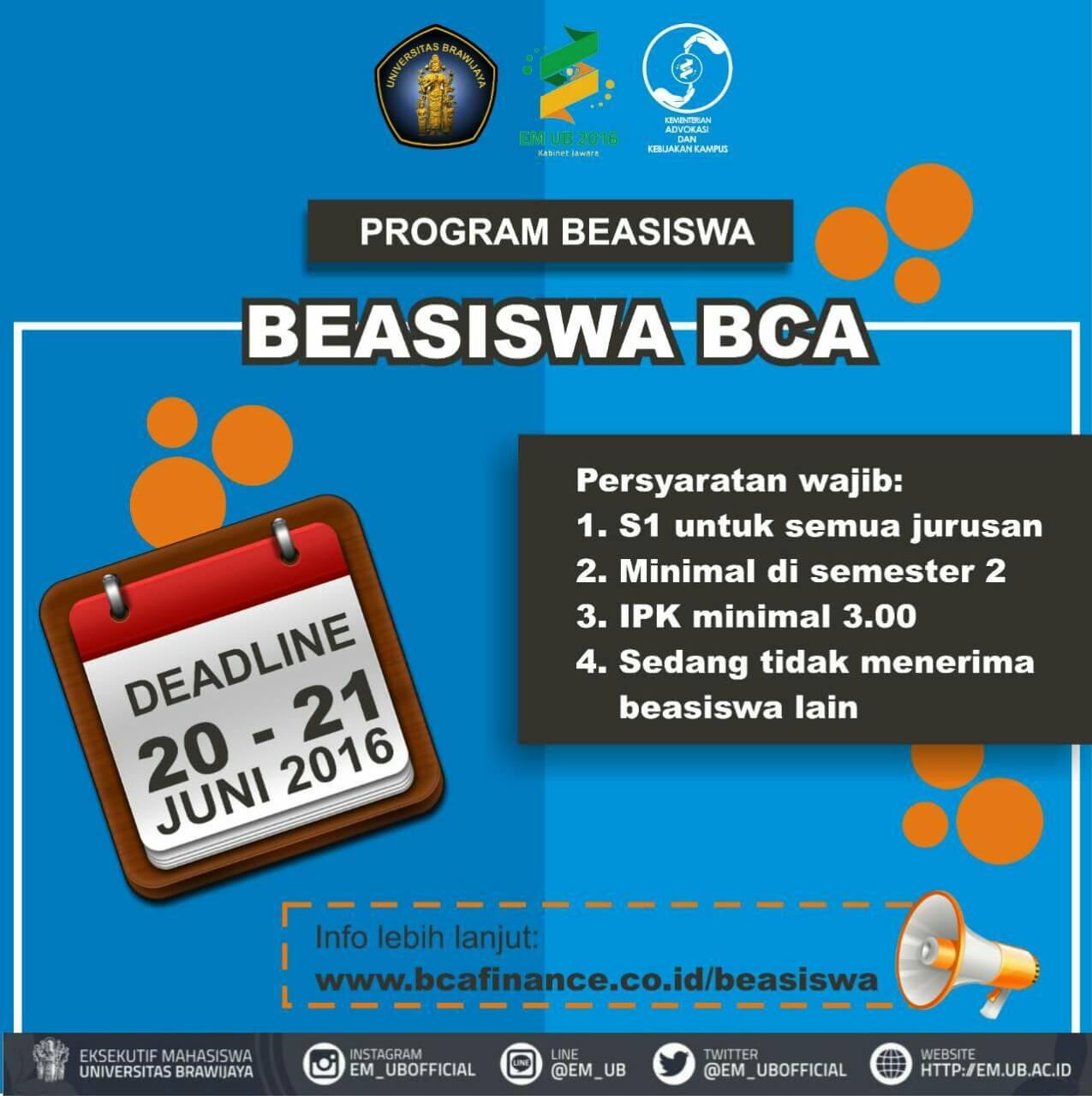 Beasiswa BCA