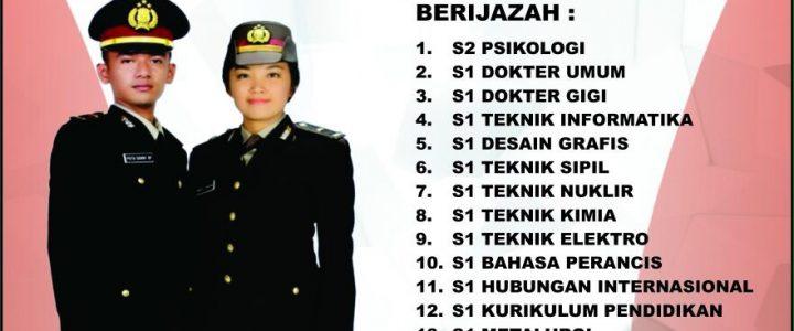 Pendidikan Pembentukan Sekolah Inspektur Polisi Sumber Sarjana (SIPSS) T.A. 2017